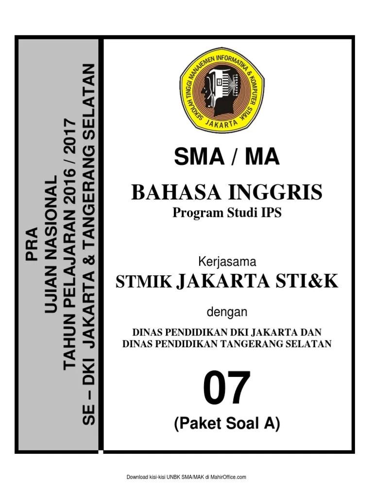 Soal Unbk Bahasa Indonesia Sma 2018 : bahasa, indonesia, Inggris, Paket, Negara, Berkembang, Perbudakan