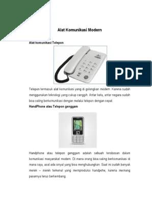 Alat Komunikasi Modern : komunikasi, modern, Komunikasi, Modern