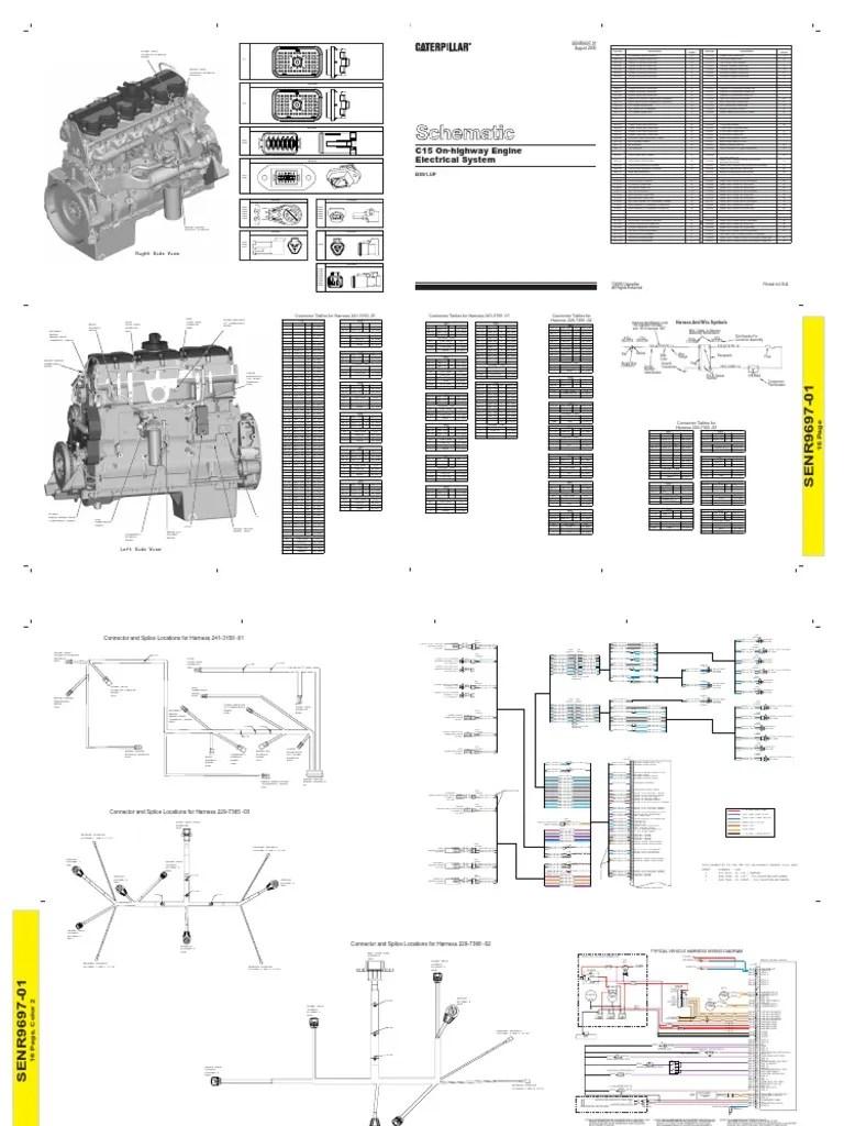medium resolution of cat c15 j1 wiring diagram