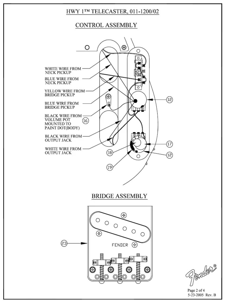 fender guitar telecaster wiring diagram pdf electrical components manufactured goods [ 768 x 1024 Pixel ]