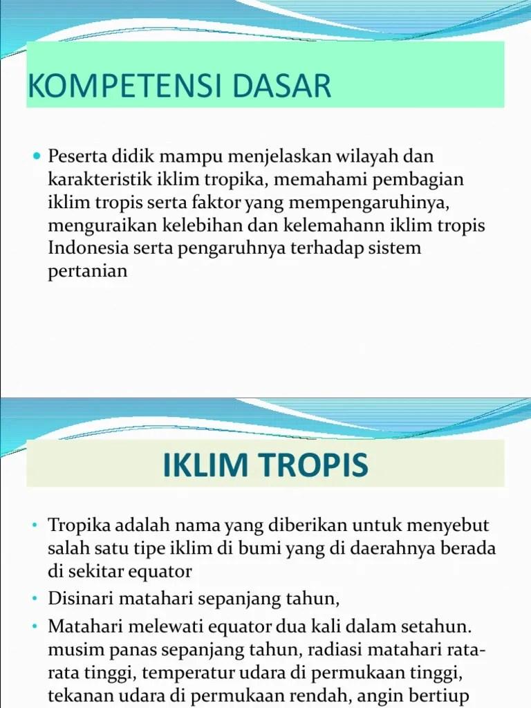 Ciri Ciri Iklim Di Indonesia : iklim, indonesia, 3.IKLIM, TROPIS