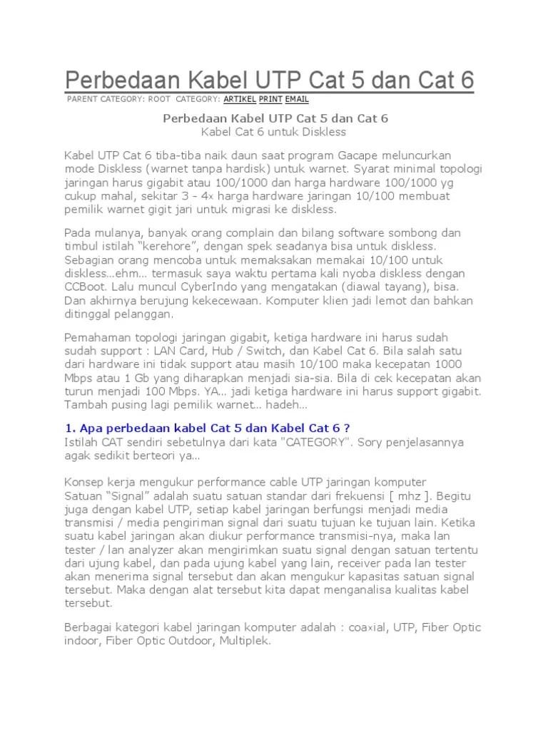 Perbedaan Cat5e Dan Cat6 : perbedaan, cat5e, Jelaskan, Perbedaan, Kabel, Cat5e, Membedakan