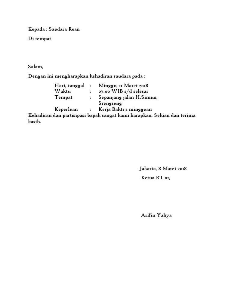 Contoh Surat Pribadi Setengah Resmi : contoh, surat, pribadi, setengah, resmi, Surat, Resmi, Setengah