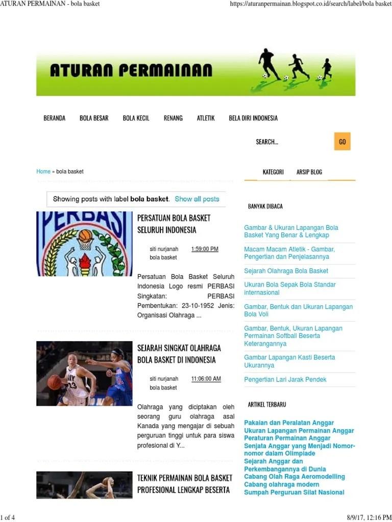Berapa Pemain Bola Basket : berapa, pemain, basket, Lasopaoklahoma