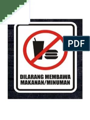 Dilarang Membawa Makanan : dilarang, membawa, makanan, Dilarang, Membawa, Makanan, Goreng