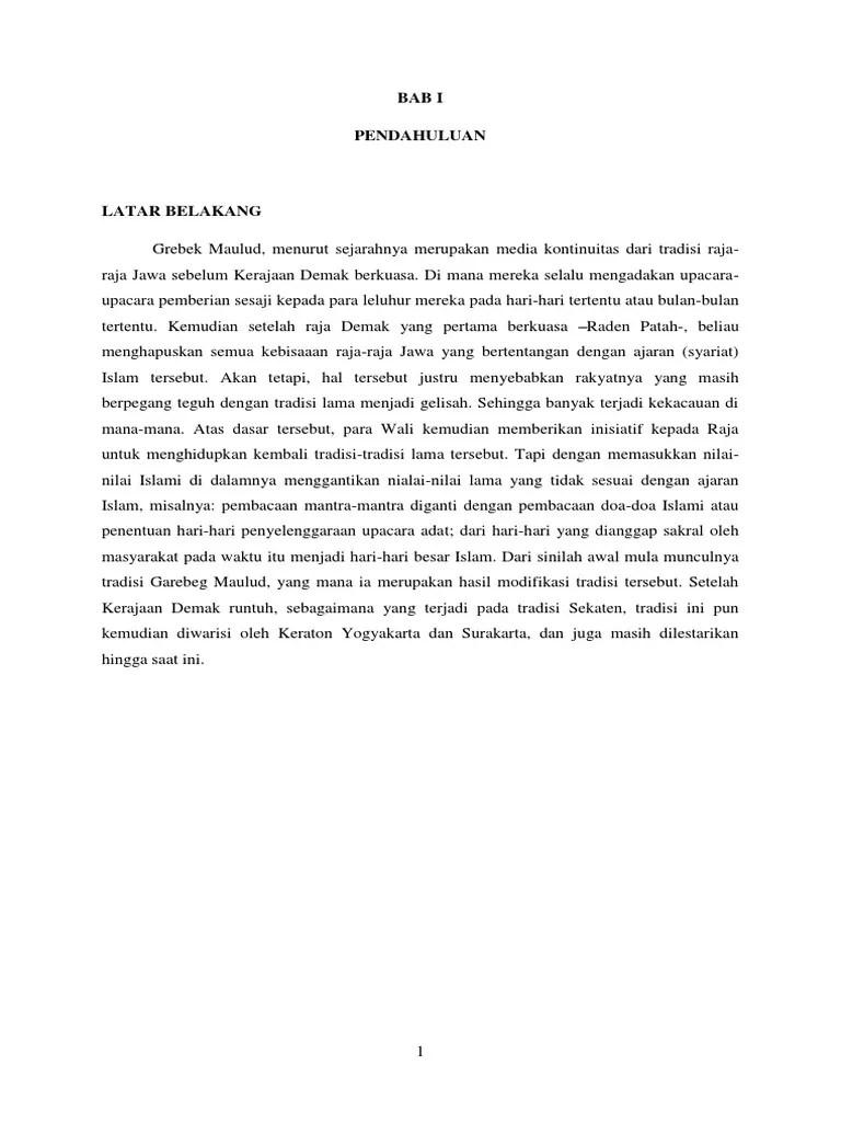 Upacara Grebeg Maulud Di Yogyakarta Yogya | GudegNet