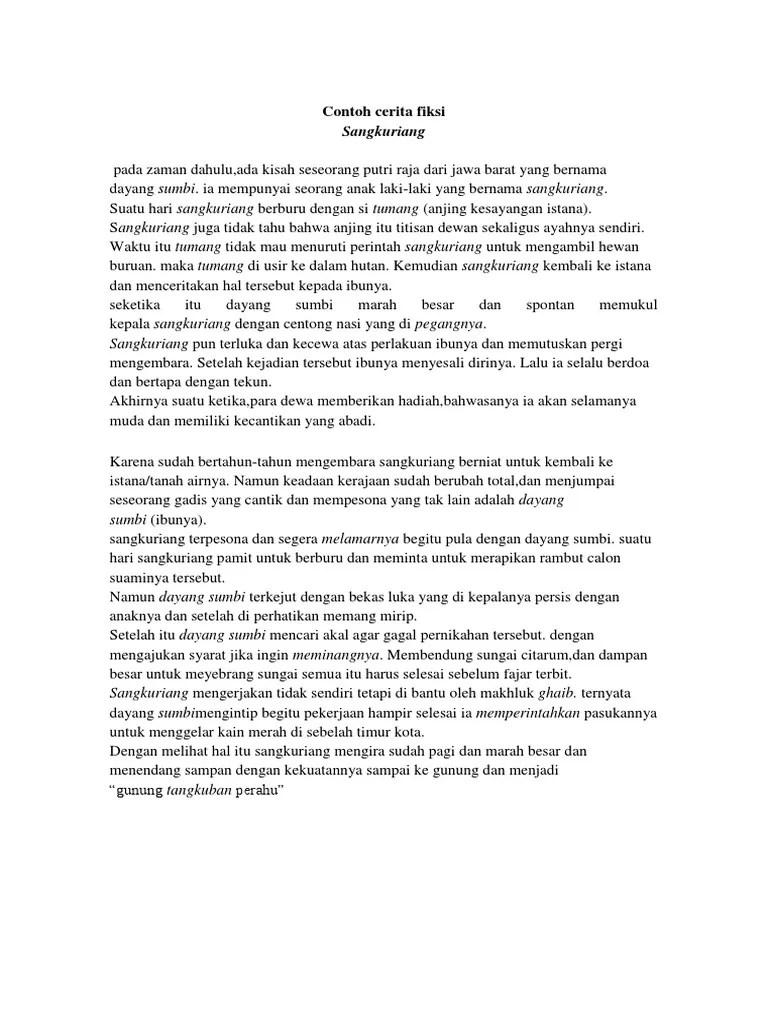 Contoh Cerita Fiksi Sejarah : contoh, cerita, fiksi, sejarah, Contoh, Cerita, Sejarah, Fiksi