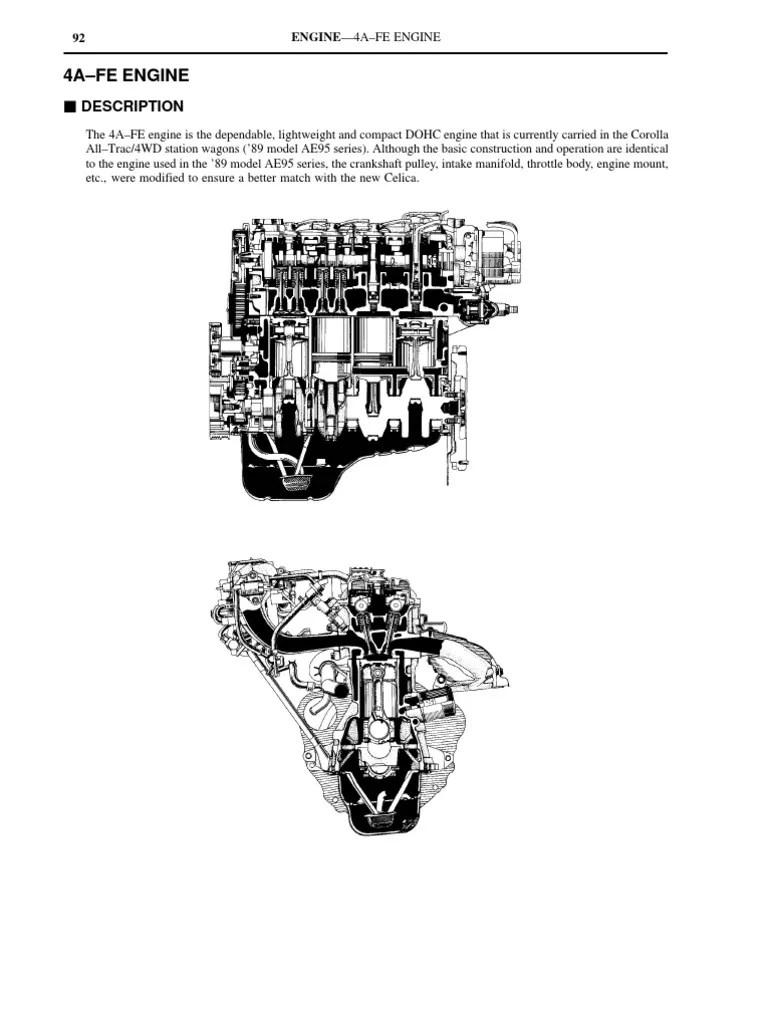 1998 toyotum corolla intake gasket diagram [ 768 x 1024 Pixel ]