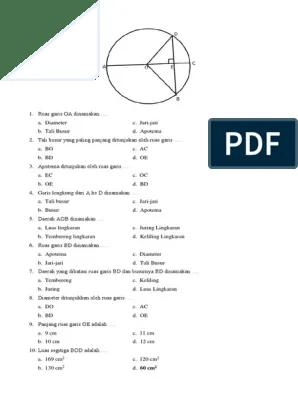 Sebutkan 3 Unsur Pada Lingkaran Beserta Penjelasannya : sebutkan, unsur, lingkaran, beserta, penjelasannya, Contoh, Jawaban, Unsur, Lingkaran, IlmuSosial.id
