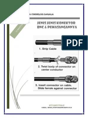 Pengertian Konektor Bnc : pengertian, konektor, Pengertian, Konektor