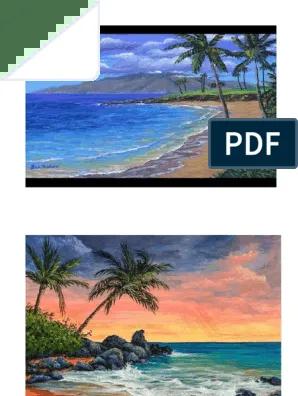 Lukisan Pemandangan Pantai : lukisan, pemandangan, pantai, Lukisan, Pemandangan, Pantai