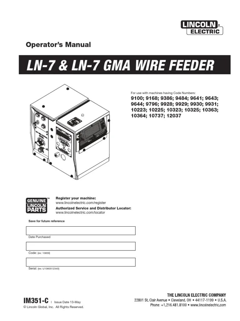 medium resolution of lincoln ln 7 wiring diagram