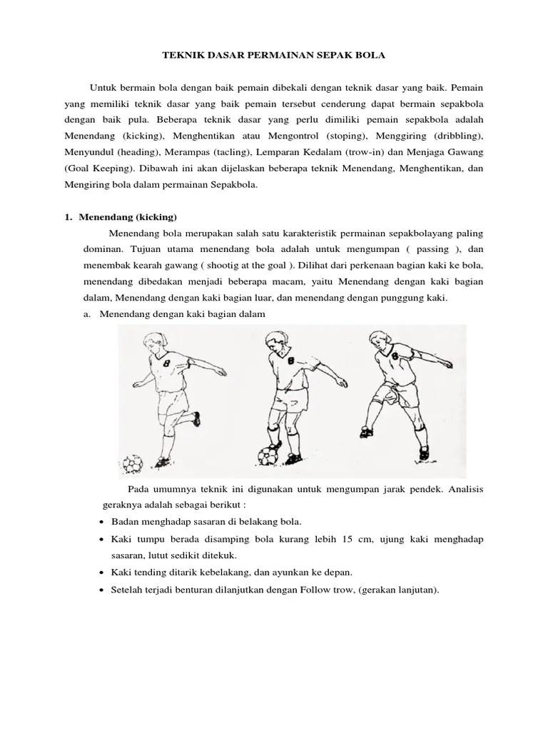 Sebutkan 4 Gerakan Mengumpan Atau Menendang Bola Dengan Kaki Bagian Dalam : sebutkan, gerakan, mengumpan, menendang, dengan, bagian, dalam, Empat, Gerakan, Mengumpan, Menendang, Dengan, Punggung