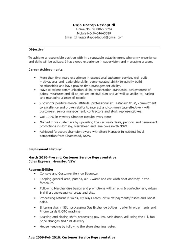 Coles Online Resume Technical Skills Resume Computer Science