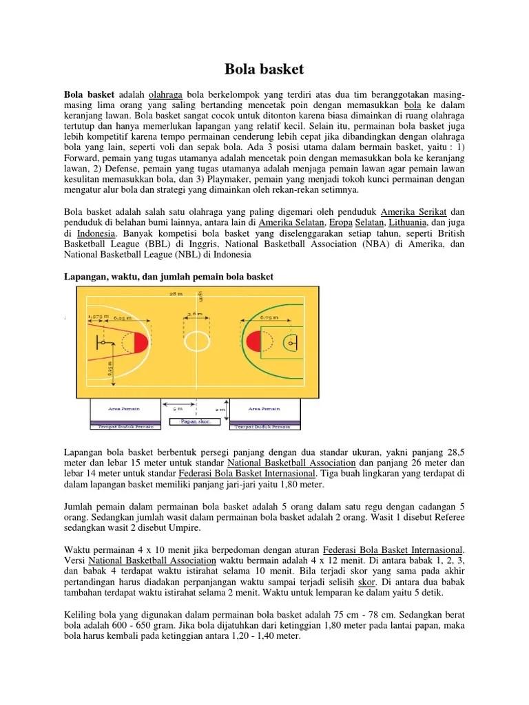 Berapa Pemain Bola Basket : berapa, pemain, basket, Pemain, Tengah, Dalam, Permainan, Basket, Disebut, Dengan, Sebutkan