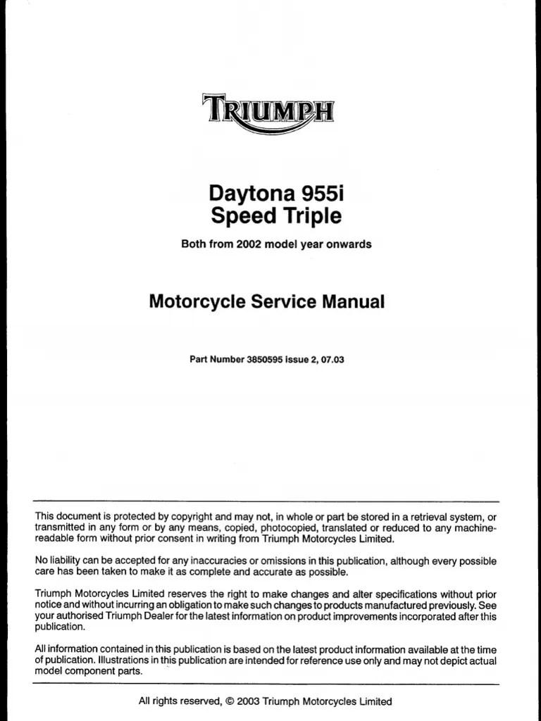 hight resolution of triumph daytona 955i wiring diagram
