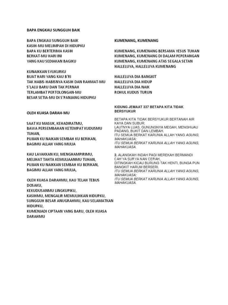 NDC Worship - Kunaikkan Syukurku (Live) Lyrics | MetroLyrics