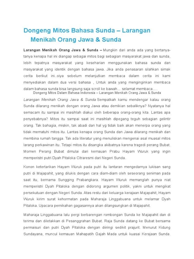Pengertian Dongeng Bahasa Sunda : pengertian, dongeng, bahasa, sunda, Contoh, Dongeng, Sunda, Surferlasopa