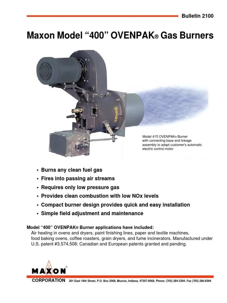 maxon burner control wire diagram [ 768 x 1024 Pixel ]