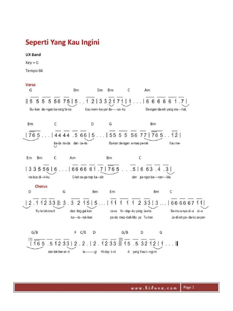 Chord Lagu Rohani Nikita : chord, rohani, nikita, Nikita-Seperti, Ingini
