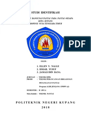 Logo Politeknik Negeri Kupang : politeknik, negeri, kupang, Cover, Makalah