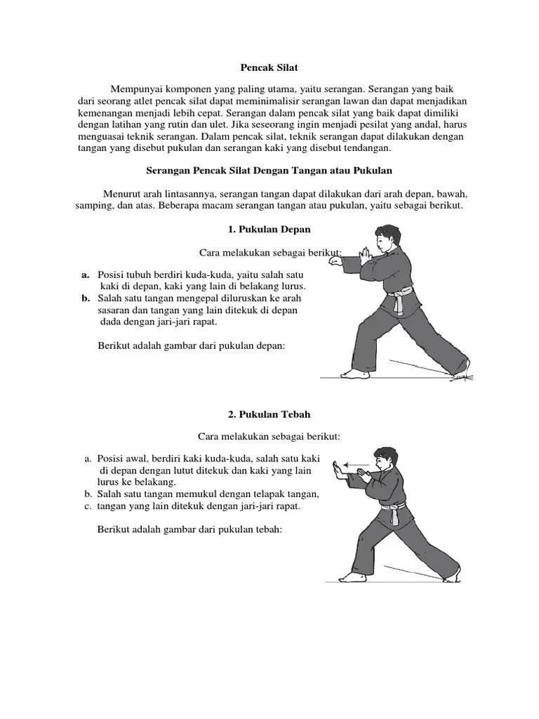Serangan Tangan Dari Depan Menggunakan Ujung Ujung Jari Disebut : serangan, tangan, depan, menggunakan, ujung, disebut, Pencak, Silat
