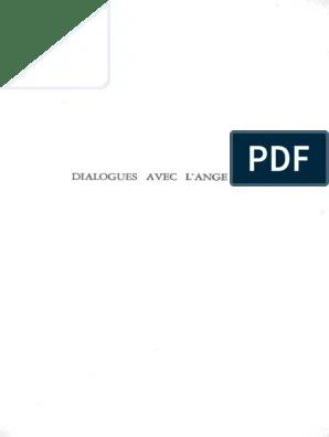 Dialogue Avec L Ange Pdf : dialogue, Dialogues, Gitta, Mallasz