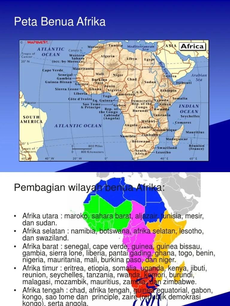 Letak Geografis Benua Afrika : letak, geografis, benua, afrika, Benua, Afrika