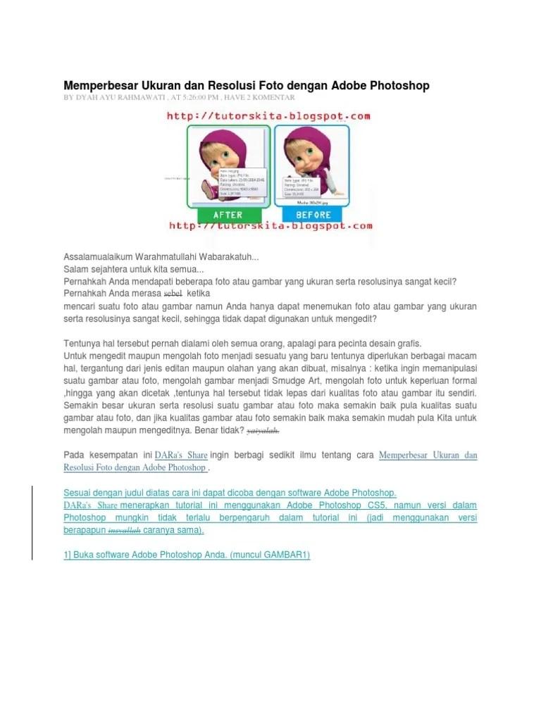 Memperbesar Ukuran Jpg Menjadi 200kb Online : memperbesar, ukuran, menjadi, 200kb, online, Membesarkan, Ukuran, Photoshop, Berbagai, Dokter, Andalan