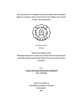 Contoh Proposal Skripsi Hukum Perdata Pejuang Skripsi Cute766