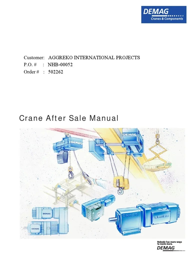 medium resolution of demag hoist pendant wiring diagram