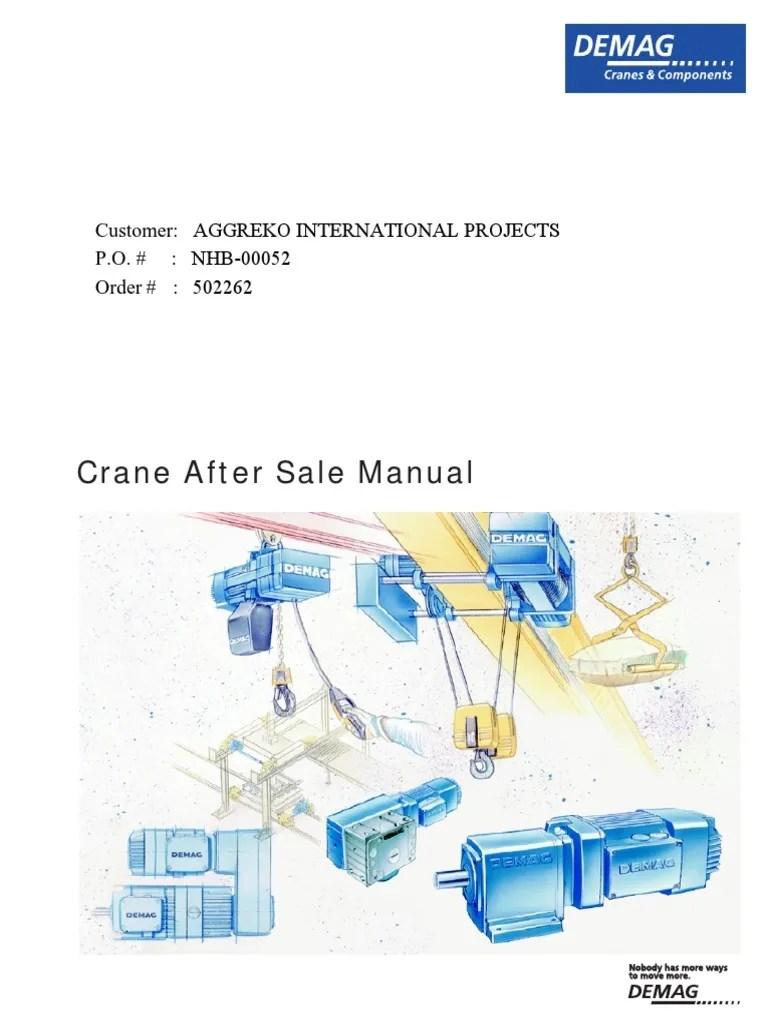 small resolution of demag hoist pendant wiring diagram