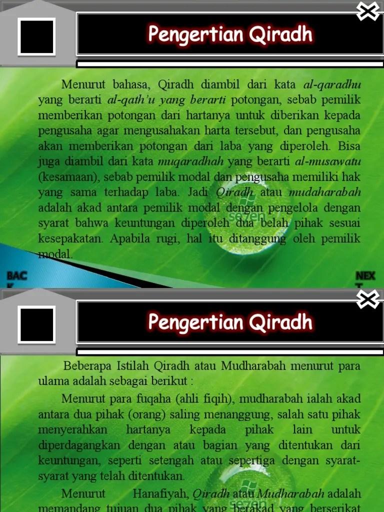 Qirad Adalah : qirad, adalah, Qirad