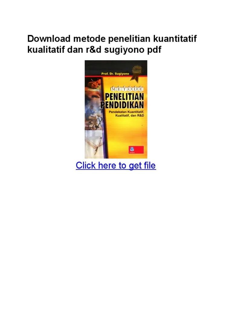 Download Metode Penelitian Kuantitatif Kualitatif Dan R&d Sugiyono Ebook : download, metode, penelitian, kuantitatif, kualitatif, sugiyono, ebook, Download, Metode, Penelitian, Kuantitatif, Kualitatif, Sugiyono