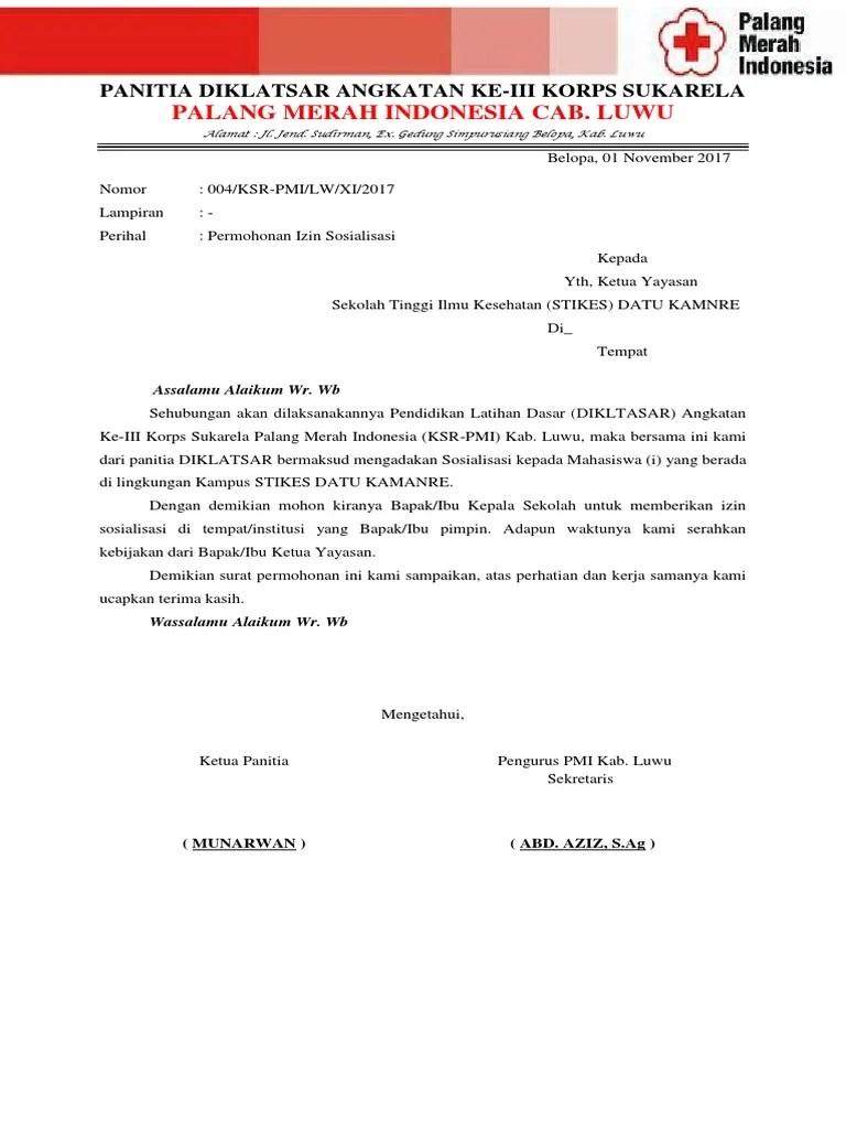Surat Permohonan Sosialisasi : surat, permohonan, sosialisasi, Surat, Permohonan, Sosialisasi