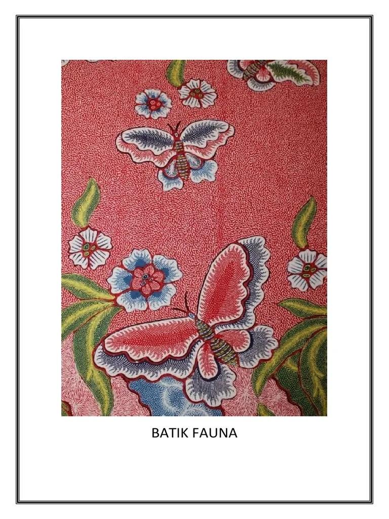 Gambar Batik Fauna : gambar, batik, fauna, Batik, Fauna