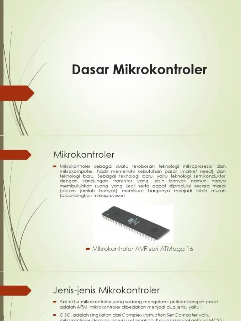 Macam Macam Mikrokontroler : macam, mikrokontroler, Jenis, Mikrokontroler, Fungsinya