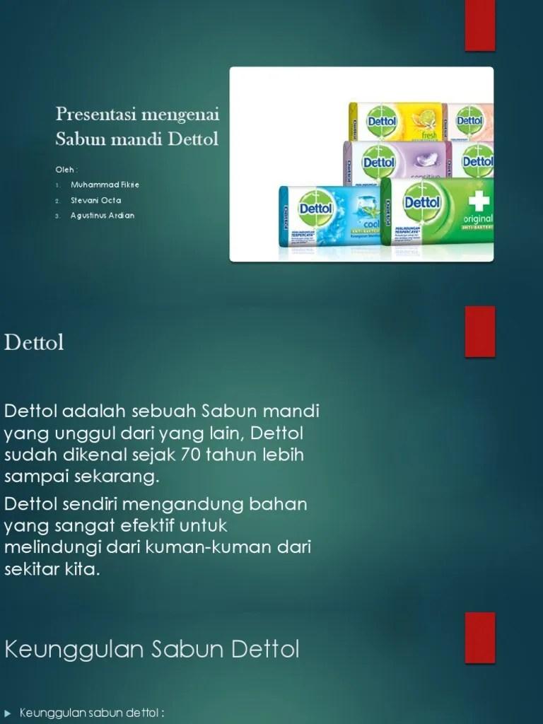 Contoh Iklan Produk Sabun : contoh, iklan, produk, sabun, Presentasi, Mengenai, Sabun, Mandi, Dettol