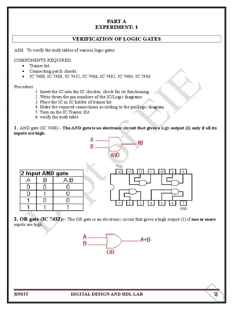 hight resolution of ic and gate diagram