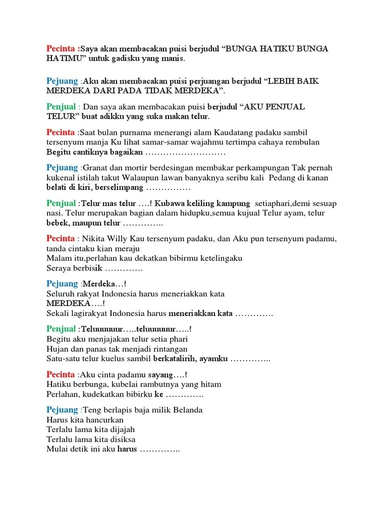 Puisi Berjudul Bunga : puisi, berjudul, bunga, Puisi, Berantai