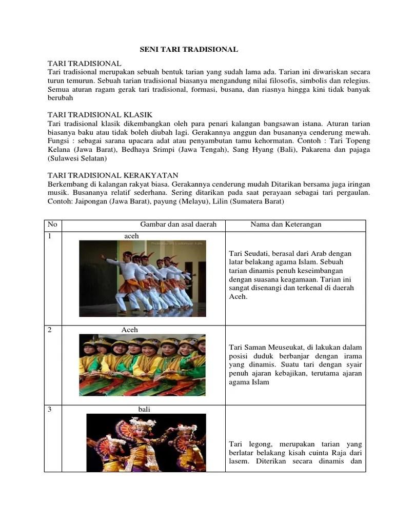 Pengertian Tari Tradisional Klasik : pengertian, tradisional, klasik, Kliping, Budaya