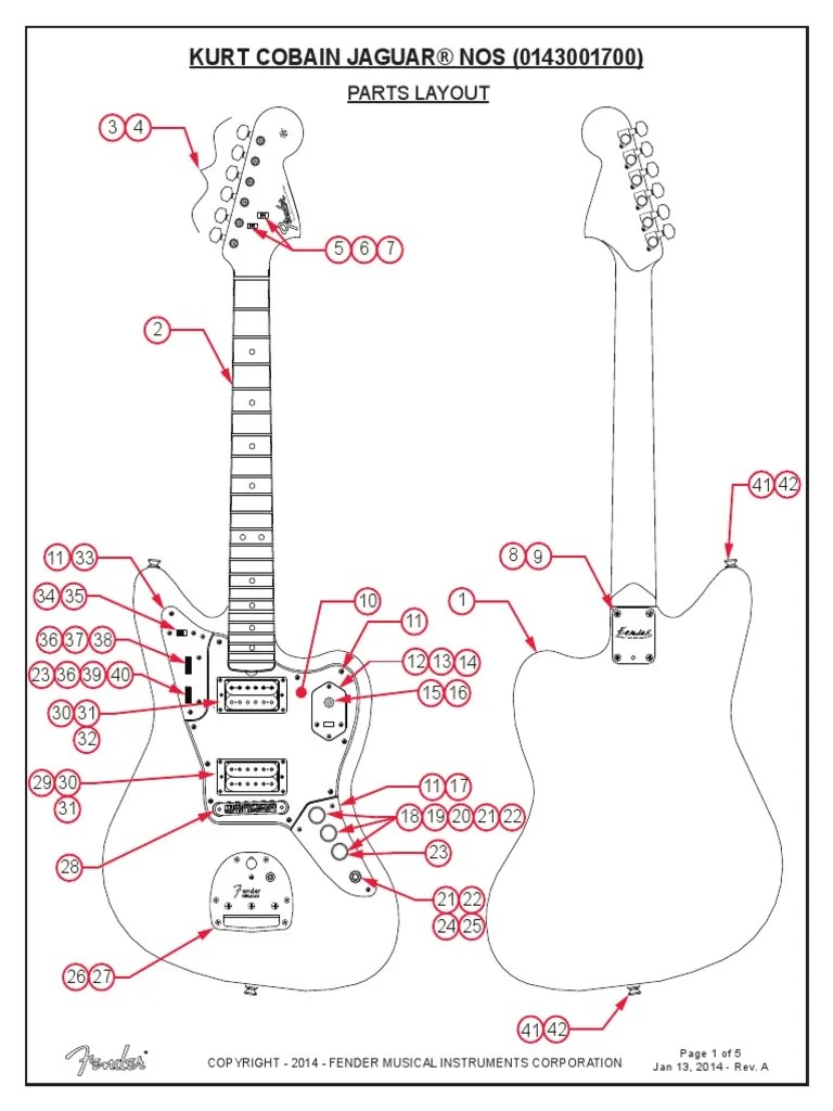Jaguar Guitar Wiring DiagramWiring Diagram