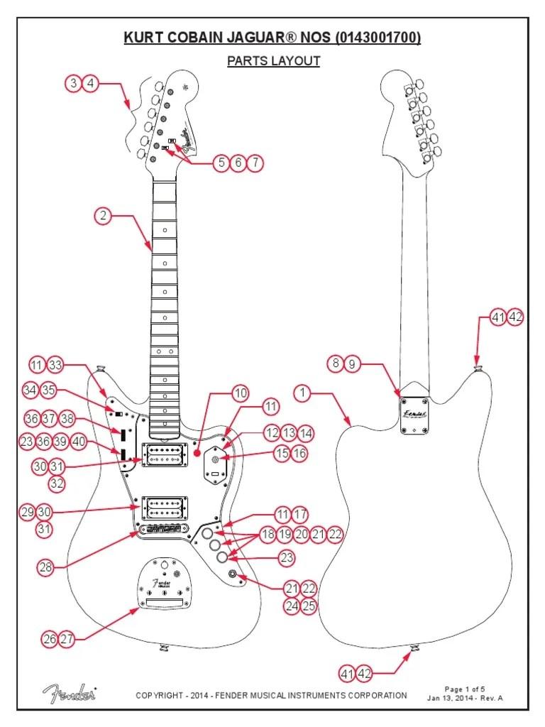 medium resolution of kurt cobain fender jaguar wiring diagram wiring diagram schematics electric guitar wiring kit fender jaguar b wiring kit