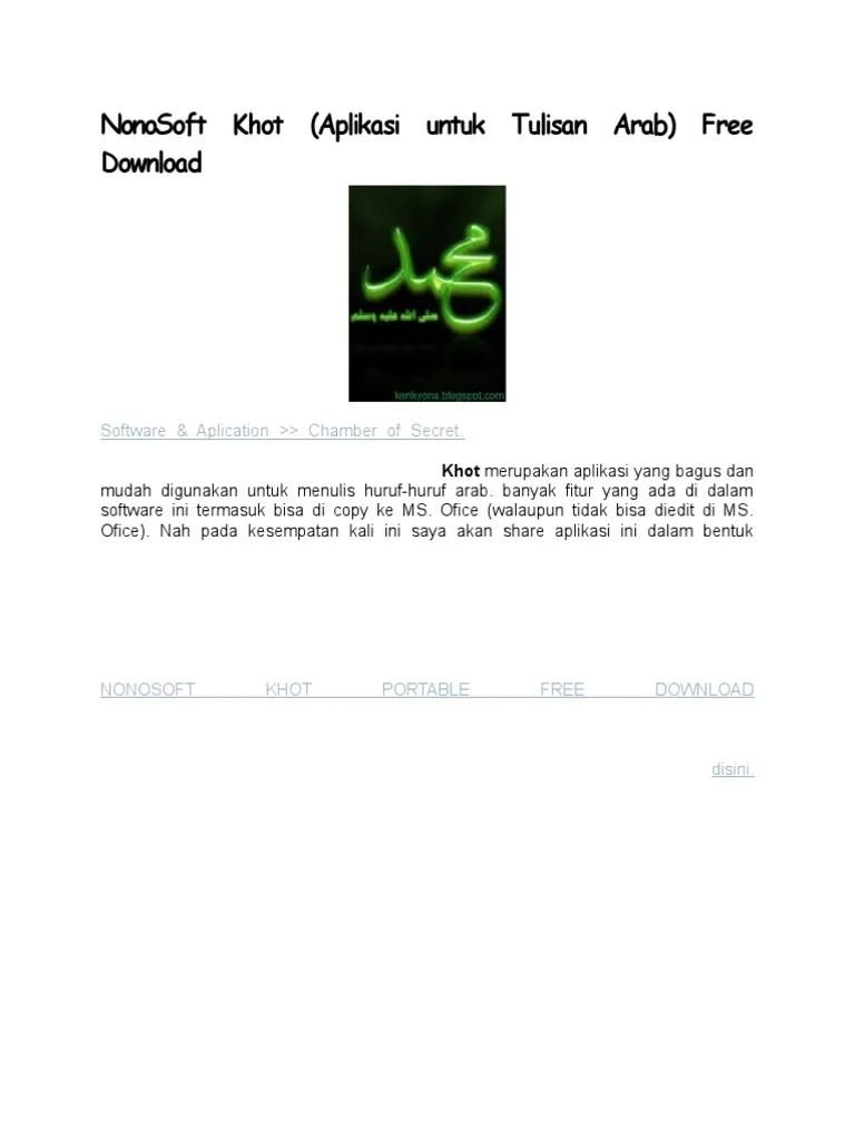 Download Nonosoft Khot : download, nonosoft, NonoSoft, Khot.doc