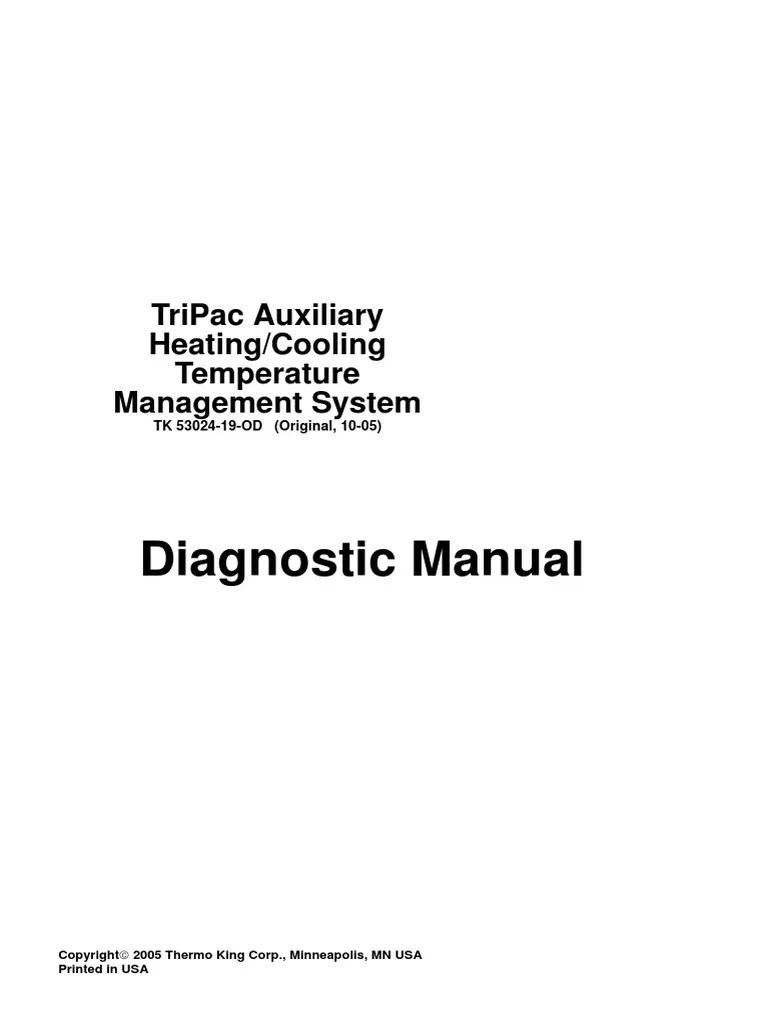 medium resolution of tripac auxiliary heating cooling temperature management system 53024 19 od original 10 05 pdf relay fuse electrical
