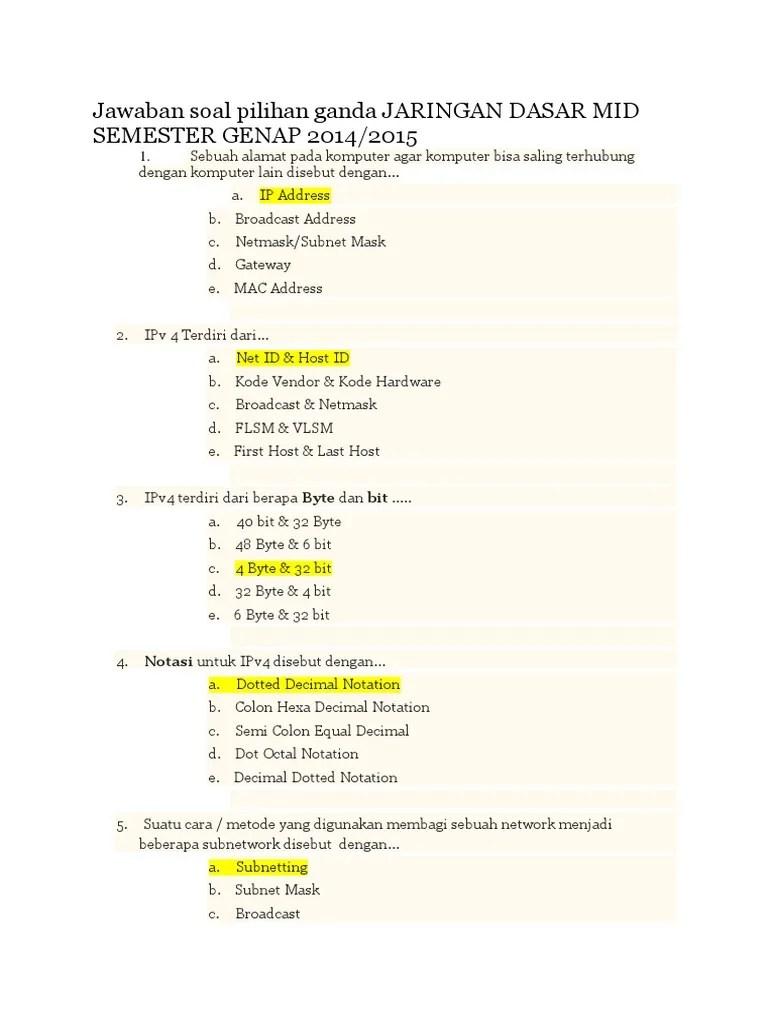 Soal Pilihan ganda dan jawaban Pemprograman Dasar.docx