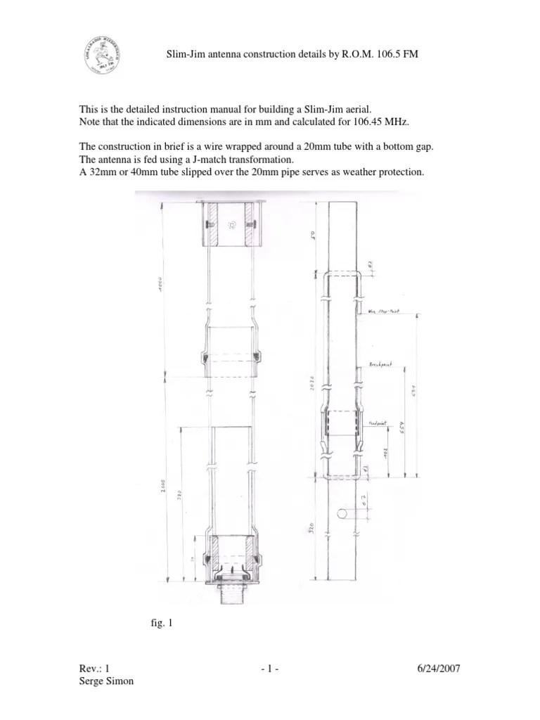 small resolution of antena slim jim project min manufactured goods electronic engineering