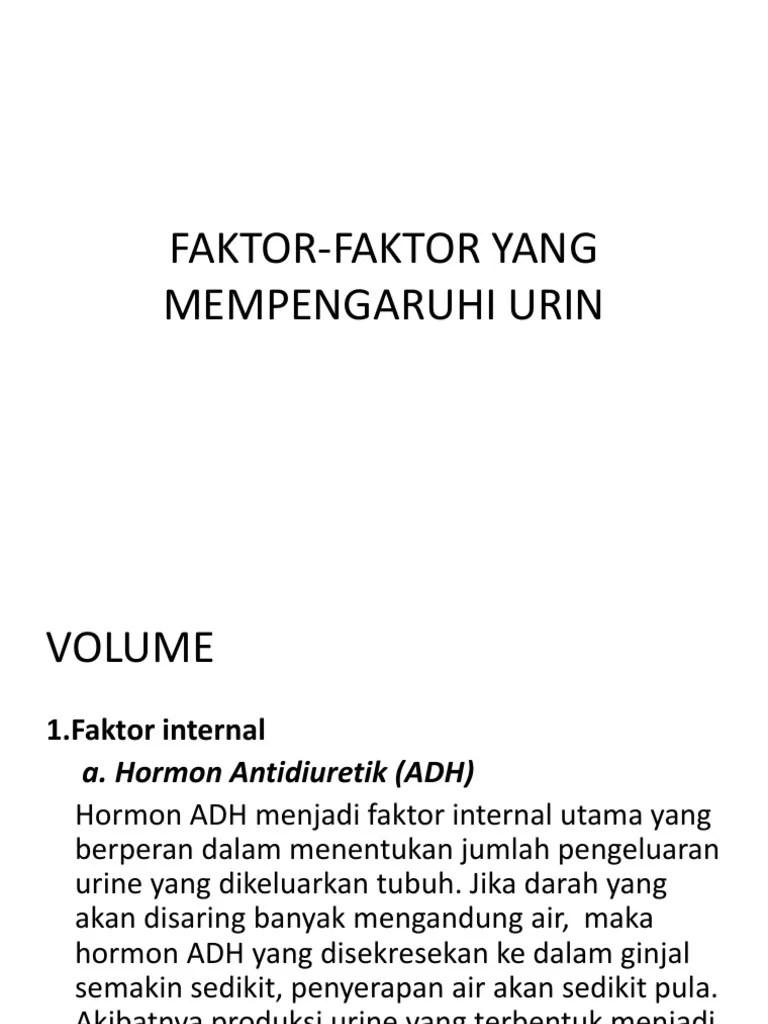 Faktor Yang Mempengaruhi Pembentukan Urine : faktor, mempengaruhi, pembentukan, urine, Faktor-faktor, Mempengaruhi