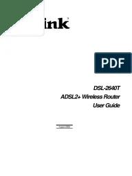 MANUAL DSL-2640T PDF