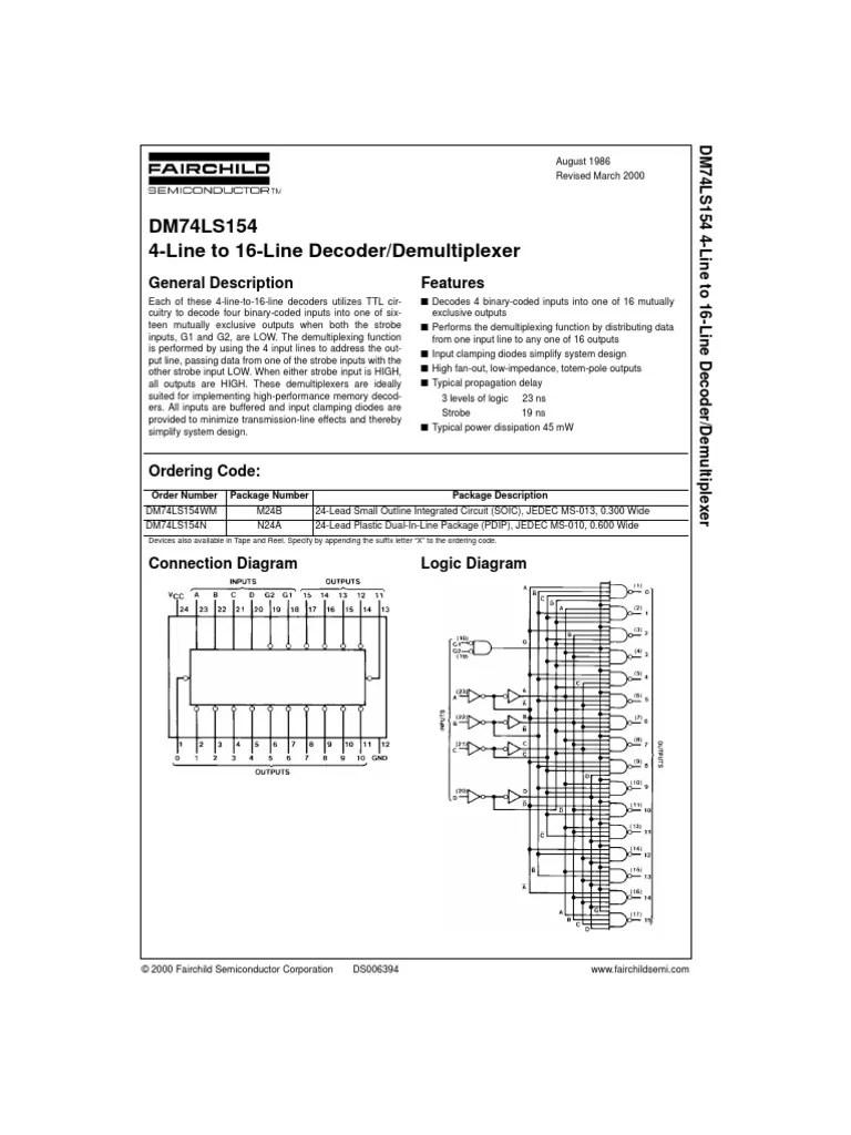 medium resolution of 4 to 16 decoder logic diagram